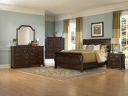 Vaughan Bassett 350-355-553-722-002-446 Quotations-Solid Cherry Bedroom Collection