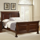 Vaughan Bassett 530-355-553-722 Reflections Queen Sleigh Bed