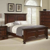 Vaughan Bassett 530-668-866-922-ms1 Reflections King Mansion Bed