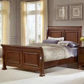 Vaughan Bassett 532-355-553-722 Reflections Queen Sleigh Bed