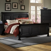 Vaughan Bassett 534-355-553-722 Reflections Queen Sleigh Bed
