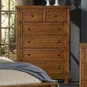 Vaughan Bassett 540-115 Reflections Chest-5 Drawers (Cedar Lined Bottom Drwr.)