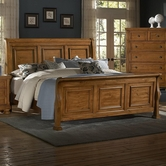 Vaughan Bassett 540-366-663-722  Reflections King Sleigh Bed