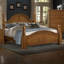 Vaughan Bassett 540-669-922-966-Ms1 Reflections King Cannonball Poster Bed