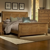 Vaughan Bassett 550-355-553-722 Reflections Queen Sleigh Bed