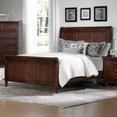 Vaughan Bassett 622-355-553-922 Ellington Queen Sleigh Bed