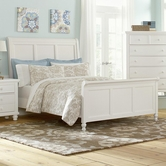Vaughan Bassett 624-366-663-922-MS1 Ellington King Sleigh Bed