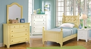 Vaughan Bassett 804-050-501-557-555T-001-447 Alexander Julian Country Butter Bedroom Collection