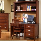 Vaughan Bassett BB10-778B-779-006 Twilight Desk and Hutch set