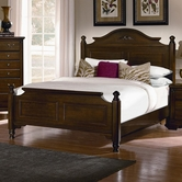 Vaughan Bassett BB11-558-855-911 Spencer Cherry Finish Full Poster Bed