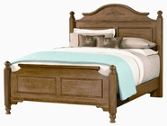 Vaughan Bassett BB14-558-855-911 Spencer Oak Finish Full Poster Bed