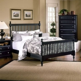 Vaughan Bassett BB16-557-755-922 Cottage Queen Slat Poster Bed