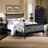 Vaughan Bassett BB16-667-766-933 Cottage King Slat Poster Bed
