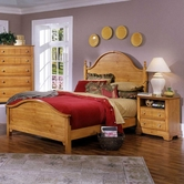 Vaughan Bassett BB20-255-552-911 Cottage Full Panel Bed