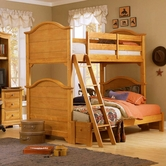 Vaughan Bassett BB20-303A-B-C-D-T Cottage Bunk Extension Bed