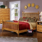 Vaughan Bassett BB20-557-755-922 Cottage Queen Slat Poster Bed