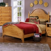 Vaughan Bassett BB20-558-855-922 Cottage Queen Panel Bed