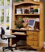 Vaughan Bassett BB20-778B-779 Cottage Desk and hutch