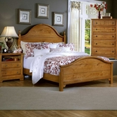 Vaughan Bassett BB21-255-552-911 Cottage Full Panel Bed