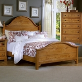 Vaughan Bassett BB21-668-866-933 Cottage King Panel Bed