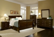 Vaughan Bassett BB23-355A-553A-722-002-446 Louis Bedroom Collection