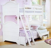 Vaughan Bassett BB24-303A-B-C-D-T Cottage Bunk Extension Bed