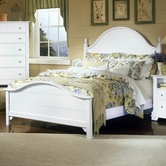 Vaughan Bassett BB24-668-866-866-933 Cottage King Panel Bed
