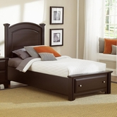 Vaughan Bassett Bb4-033B-302-338-333T Hamilton/Franklin Twin Panel Storage Bed
