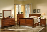 Vaughan Bassett BB43-355A-553A-722-002-446 Louis Bedroom Collection