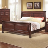 Vaughan Bassett BB51-366-663-922-MS1 New Haven King Sleigh Bed