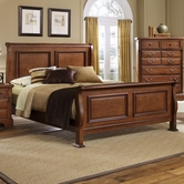 Vaughan Bassett BB52-366-663-922-MS1 New Haven King Sleigh Bed