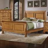 Vaughan Bassett BB53-366-663-922-MS1 Lancaster King Sleigh Bed