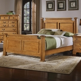 Vaughan Bassett BB53-668-866-922-MS1 Lancaster King Poster Bed