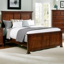 Vaughan Bassett BB77-668-866-944 Forsyth California King Panel Bed