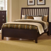 Vaughan Bassett BB8-155-551-922 Twilight Queen Slat Headboard Bed