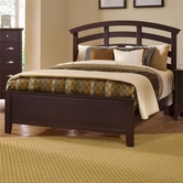 Vaughan Bassett BB8-155-559-922 Twilight Queen Arch Headboard Bed