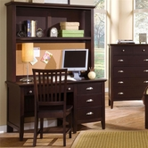 Vaughan Bassett BB8-778B-779-006 Twilight Desk and Hutch