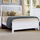 Vaughan Bassett BB9-155-551-922 Twilight Queen Slat Headboard Bed