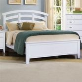Vaughan Bassett BB9-155-559-922 Twilight Queen Arch Headboard Bed