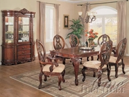 Acme 9950 Versaille Leg Table Dining Set