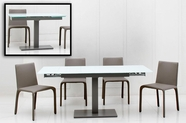 Vig-Furnitur Vggutaste-Taste-Extend-Able-Table-Hy142Ch-Grey-Chair Taste Dining Set