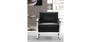 VIG Furniture VG2T0560-BLK 0560 - Modern Black Lounge Chair