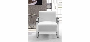 VIG Furniture VG2T0560-WHT 0560 - Modern White Leather Lounge Chair
