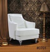 VIG Furniture VG2T0701 Tenor - White Modern Leather Lounge Chair