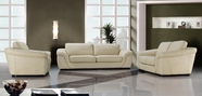 Vig Vg2T0710 0710-Modern Beige Leather Sofa Set
