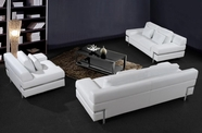 VIG Furniture VG2T0725 Divani Casa Clef - Modern Leather Sofa Set