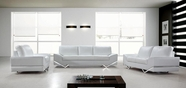 VIG Furniture VG2T0744 Vanity - White Modern Sofa Set