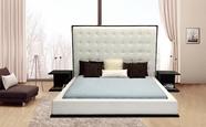 VIG Furniture VG2TBETH Beth - High Headboard Eco-Leather Bed
