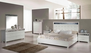 VIG Furniture VGACCEVO Evo - Modern Ambient White Bedroom Set