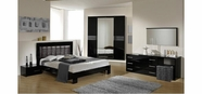 VIG Furniture VGACCMOON-BLACK Moon - Italian Modern Bedroom Set